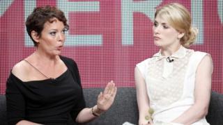Broadchurch stars Olivia Colman and Jodie Whittaker