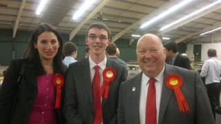 Luciana Berger, Jake Morrison and Joe Anderson