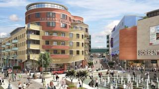 Brewery Square artist's impression