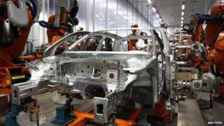 Audi car production