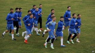 Kosovo players