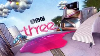 A BBC Three 'ident', first seen in 2008