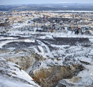 Kiruna: How to move a town two miles east