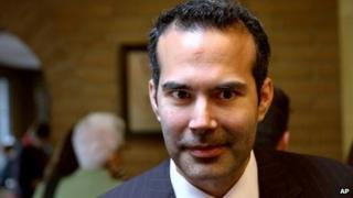 George P Bush at a campaign stop in El Paso, Texas on 3 March