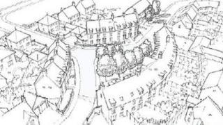 Norfolk Homes artist's impression of the new development