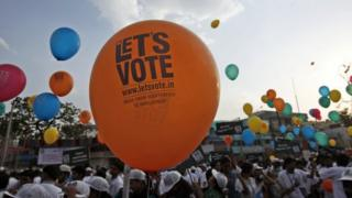 The Election Commission has urged people to vote in huge numbers