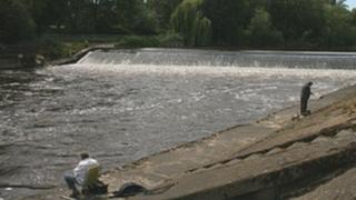 Weir at Shrewsbury