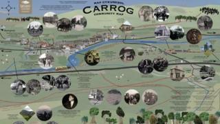 Map Carrog