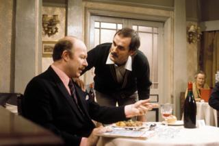 Fawlty Towers Hotel Inspectors episode