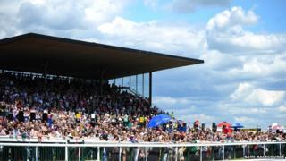 Bath racecourse grandstand