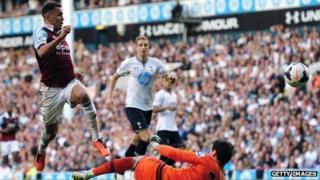 Tottenham Hotspur and West Ham United on 6 October