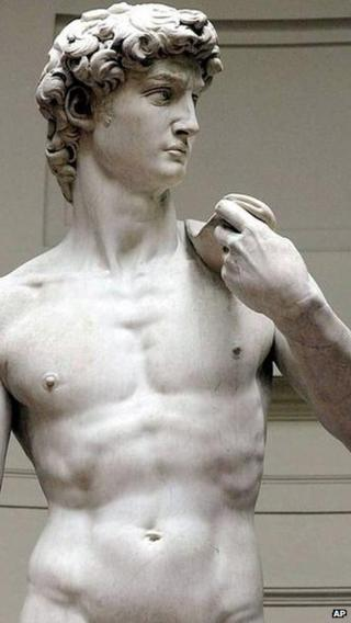 David at Florence's Accademia Gallery, file pic