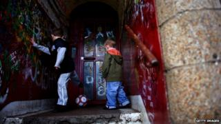 Children in Glasgow