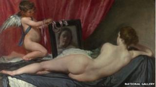 Painting - the Rokeby Venus
