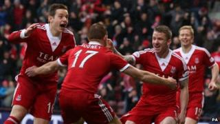 Aberdeen players