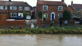 Generic flooding in Wilberfoss