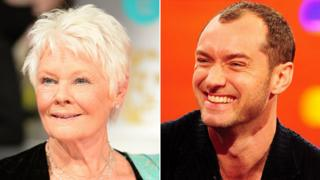 Dame Judi Dench and Jude Law
