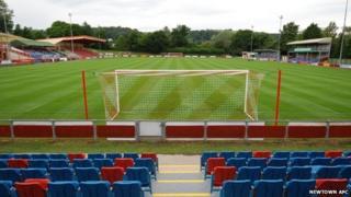 Newtown's Latham Park ground