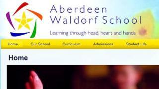 Aberdeen Waldorf website