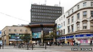 Overgate centre, Dundee