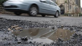 Some council services could be contracted out including repairing potholes in roads