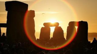 Solstice at Stonehenge, Wiltshire