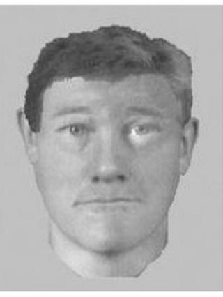 Photofit of suspect