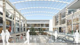 Westgate Alliance artists' impression