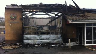 Downham Market fire station
