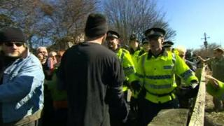 Barton Moss protest