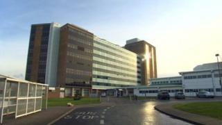 Altnagelvin Hospital in Londonderry