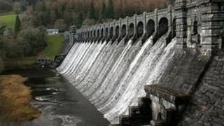 Vyrnwy reservoir