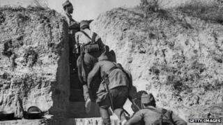 International Brigade soldiers