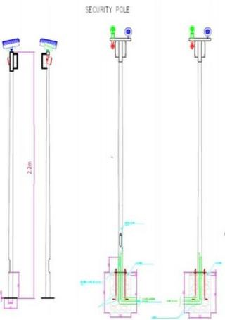CCTV poles