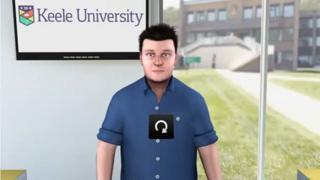 virtual adviser, Keele University