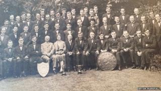 First choir in 1921