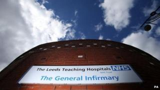 Leeds General Infirmary sign