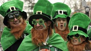 People around the world will be marking St Patrick's Day on 17 March