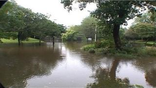 Ouseburn flooding