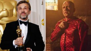 Christoph Waltz at the 2010 Oscars and how he appears in The Zero Theorem