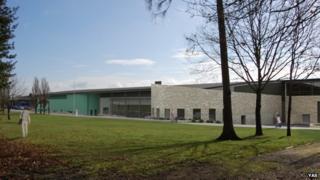 Computer image of new hall