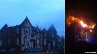 Prestwick fire