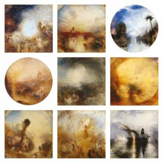 JMW Turner's nine canvases