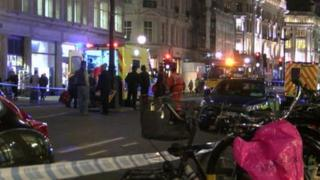 Collision on Regent Street on 25 February.