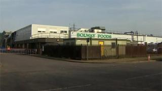 Solway Foods factory, Corby