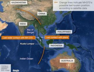 Missing Malaysia plane: Malaysia requests countries' help