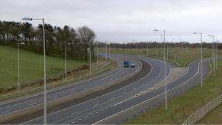 The M73 was closed for six hours after the incident
