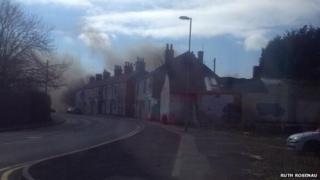 Edensor High School fire