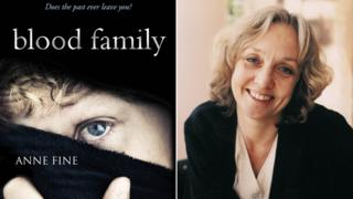 Anne Fine and her book Blood Family