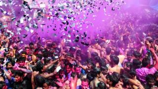 Holi - a splash of colour and joy
